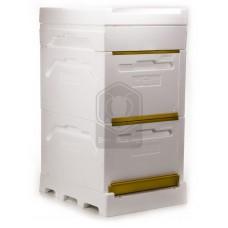 Комплект Дадан 2-х корпусный с Кормушкой (Bee-Box)