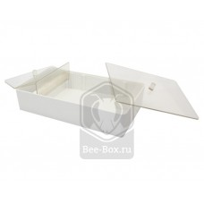 Кормушка потолочная 1 литр с прозрачной крышкой