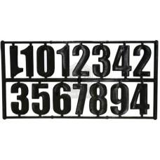 Комплект из 15 цифр черный
