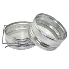 Фильтр для мёда, 150 мм оцинк. (ровный)