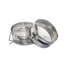 Фильтр для мёда, 150 мм нерж. (ровный)