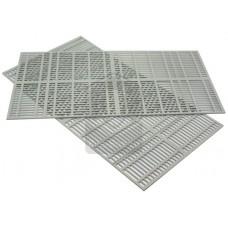 Решетка разделительная 445х235 мм (Комплект 2 шт)