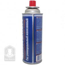 Газ всесезонный, баллон 220 грамм, цанговый, метал.