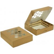 Быстросборная упаковка для свечей 133х146х38 мм
