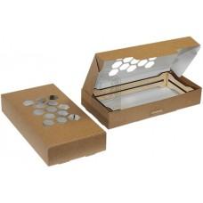 Быстросборная упаковка для свечей 133х220х38 мм