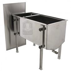 Стол для распечатки усиленный 1000 мм (нерж)