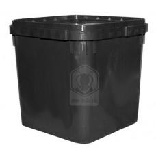 Куботейнер (23 литра) черный
