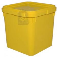 Куботейнер (23 литра) желтый