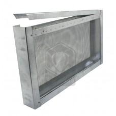 Изолятор на 1 рамку Рут с металлической сеткой (оцинк)