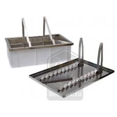 Ванночка для распечатки нержавеющая (2 функции)