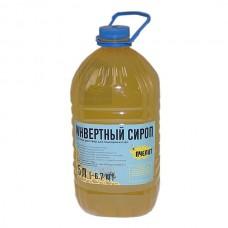 """Готовый инвертный сироп """"Пчелит"""" (2:1) 5 л/6,7 кг"""